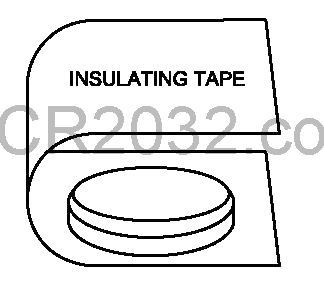 cr2032 insulating tape